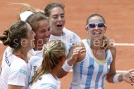 FED CUP Argentina vs. Japon