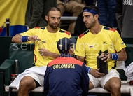 Davis Cup World Group Qualifier COL v ARG.: #045554