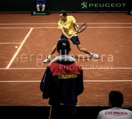 Davis Cup World Group Qualifier COL v ARG.: #045560