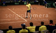 Davis Cup World Group Qualifier COL v ARG.: #045559