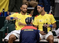 Davis Cup World Group Qualifier COL v ARG.: #045555